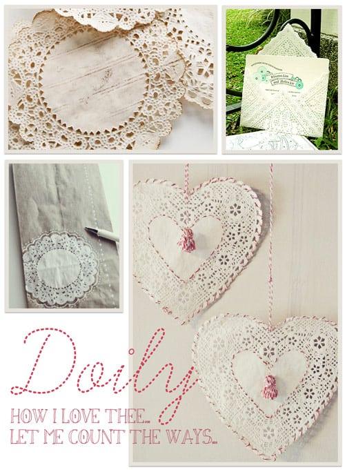 Lovin' DIY Doily Projects