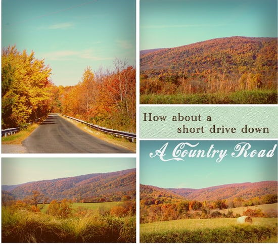 Images of Fall :: A drive down A Country Road part 1
