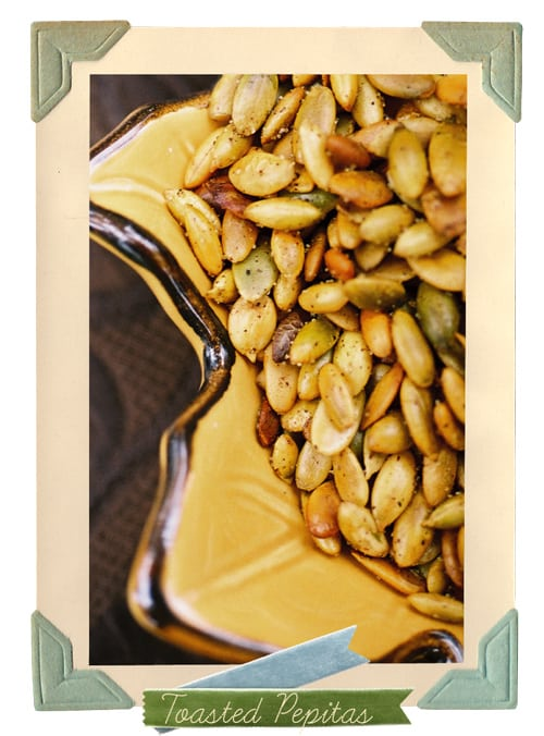 Easy Toasted Pumpkin Seed recipe