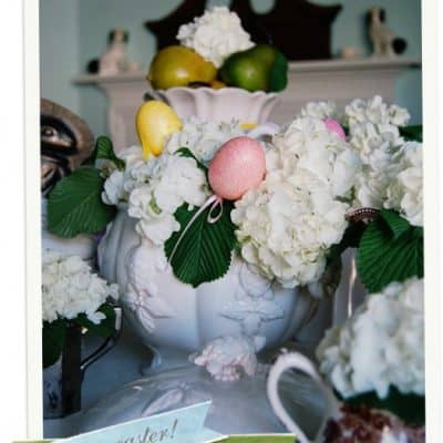 {Set a Pretty} Easter Table