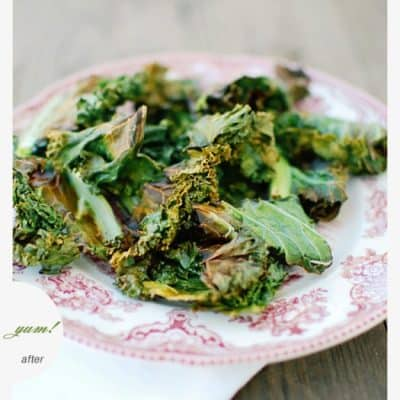 {let's make some…} Crispy Kale Chips