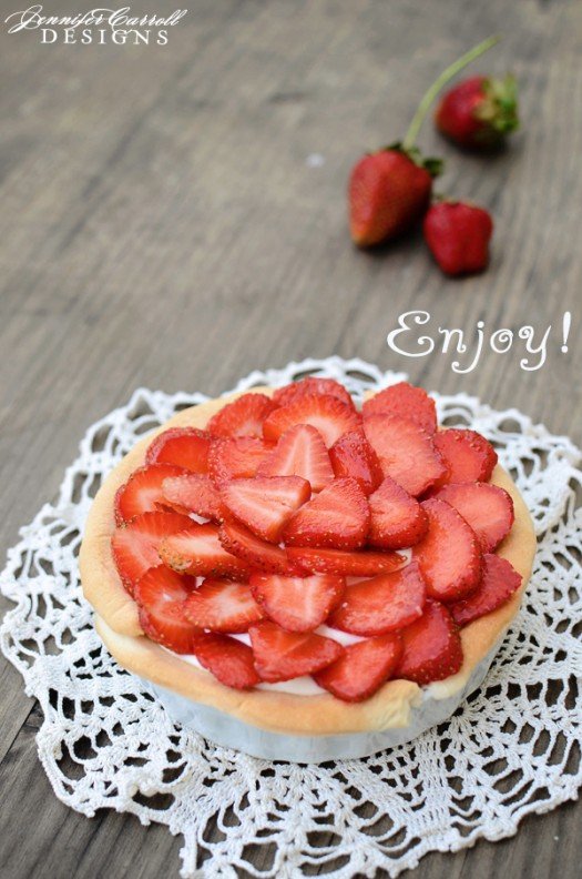 Let 39 s make a white chocolate strawberry tart for White chocolate and strawberry tart