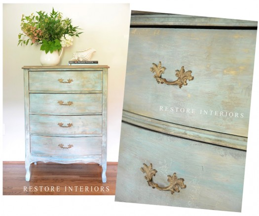 Restore Interiors Dresser Makeover Group
