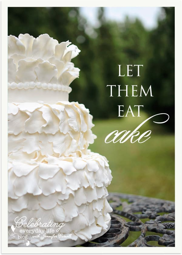 White Wedding Cake, Leaf Wedding Cake, Ruffled Wedding Cake, Art of Photography Workshop