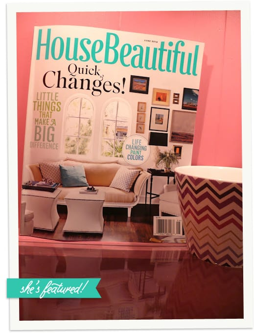 My Old Country House blog in June 2012 issue of House Beautiful!
