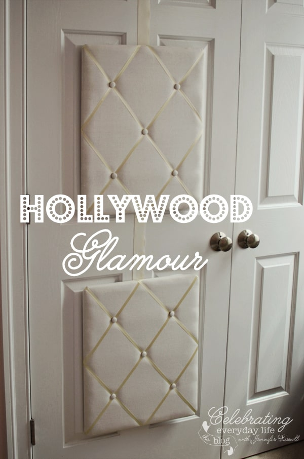 Dress Up Closet Doors With French Memory Boards