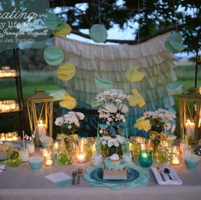 Dessert Under the Stars Party {a DIY placesetting}