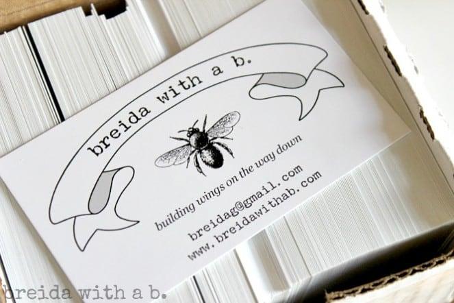 Breida with a B cards