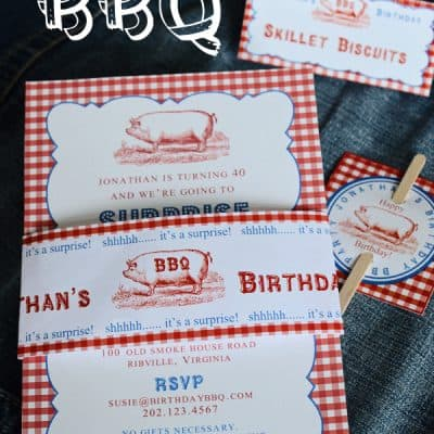 BBQ Party Kit {End of Summer Party idea!}