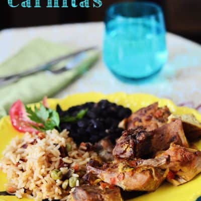 {let's cook!} Slow Cooker Mexican Carnitas recipe