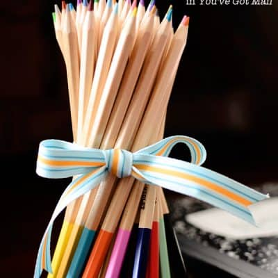 {For You} A Bouquet of Newly Sharpened Pencils