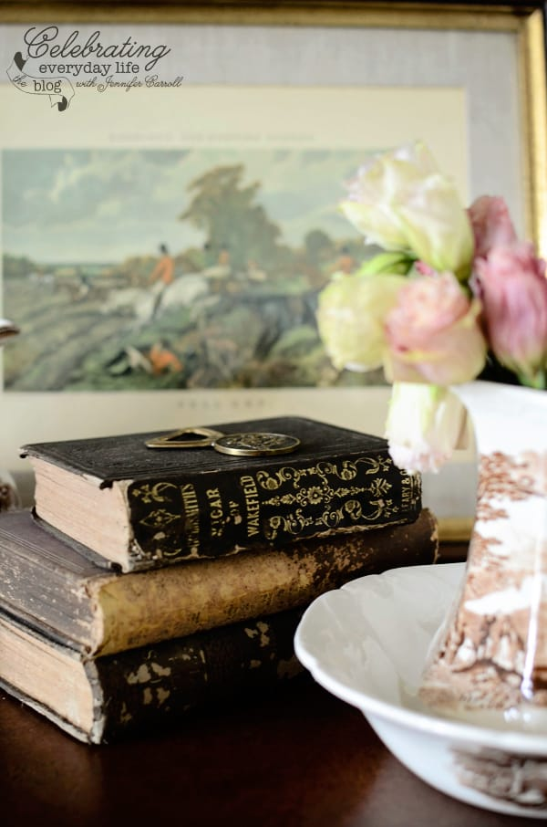 Vintage Books for Fall Photo Shoot, Heavily distressed books
