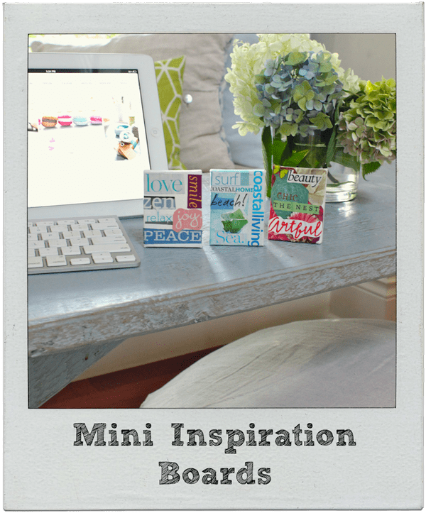 mini inspiration boards