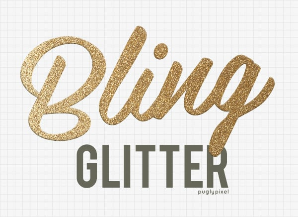 pugly pixel glitter textures