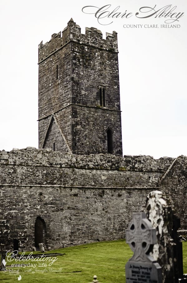 Clare Abbey, County Clare, Ireland