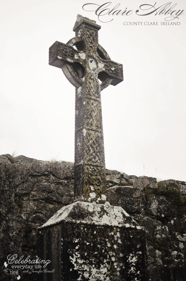 Celtic Cross at Clare Abbey