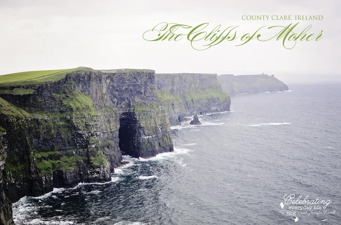 {Let's Visit} The Cliffs of Moher & Clare Abbey in Ireland!