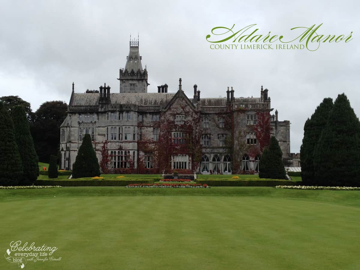 Adare Manor Hotel, County Limerick, Ireland, Adare Village