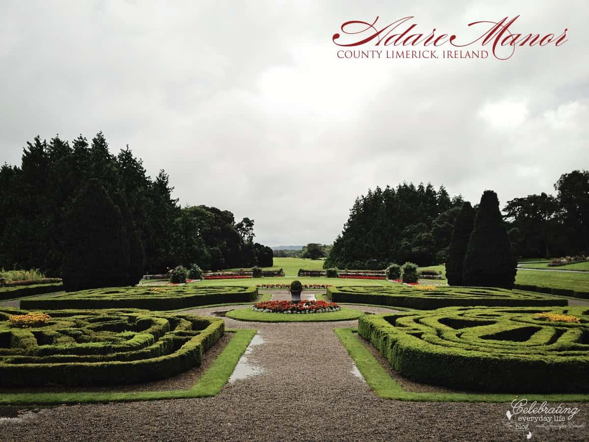 Adare Manor House Garden, County Limerick, Ireland