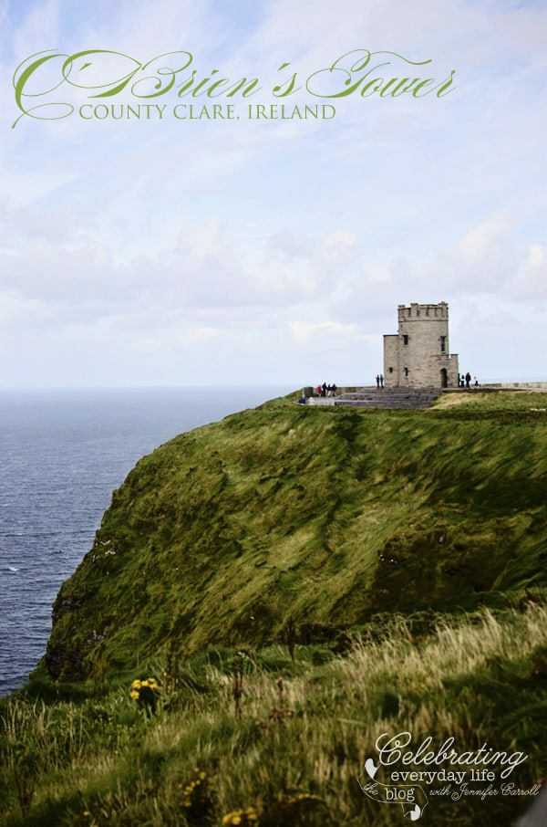 O'Brien's Tower, Cliffs of Moher, County Clare, Ireland