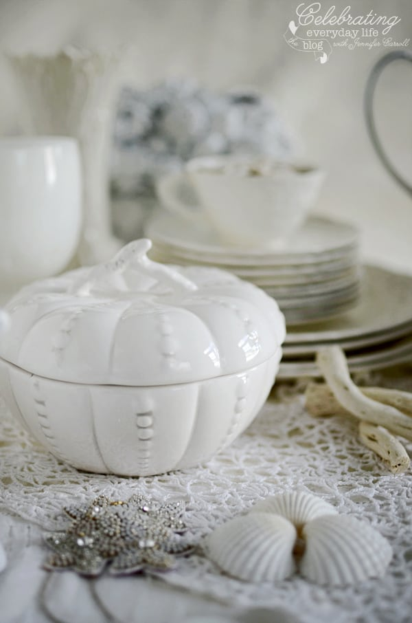 Inspired by White Decor small Tureen