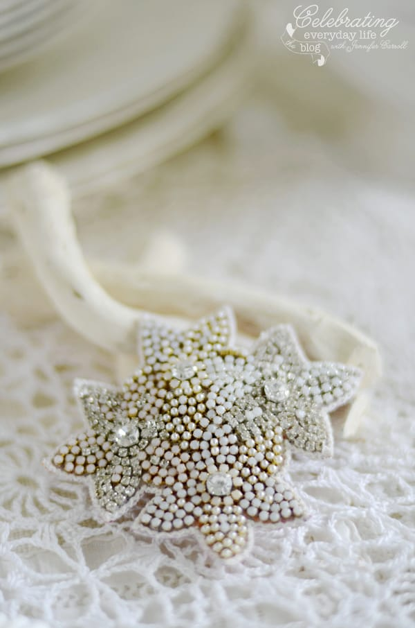 jewelled Clip from Anthropologie