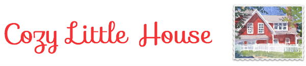 Cozy Little House Blog logo