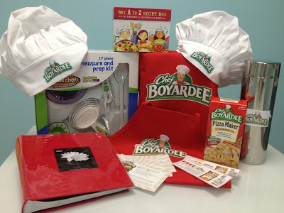 Chef Boyardee Little Chef giveaway from Making Lemonade Blog