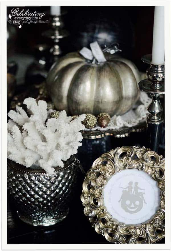 A Cinderella Inspired Elegant Halloween Dinner Party
