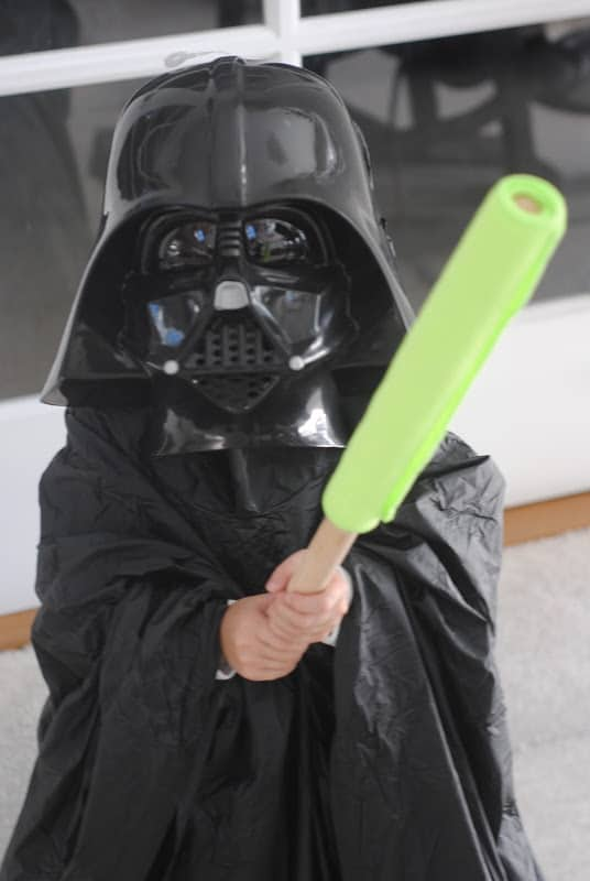 Handmade Star Wars Costume from Making Lemonade blog