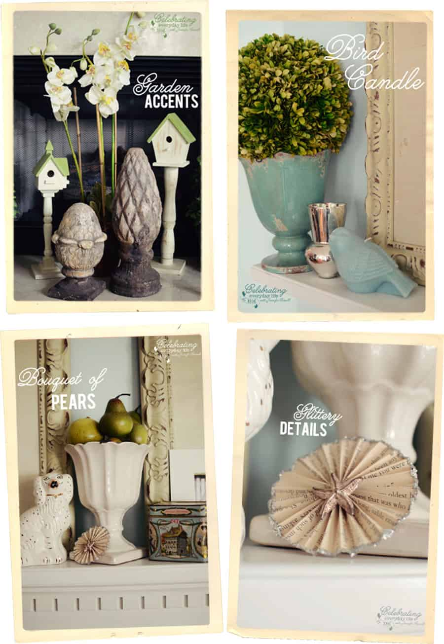 Decorating For Fall With Pinterest Ii: Decorating A Mantel {Botanical Print Inspiration
