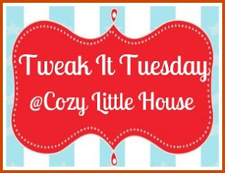 tweak it tuesday logo from Cozy Little House blog