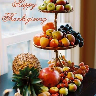 Happy Thanksgiving & A Thanksgiving Blessing