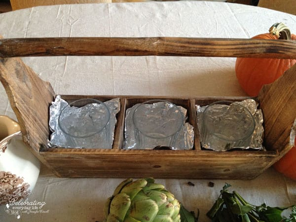 how to make your own Thanksgiving centerpiece