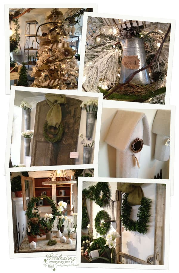 Winter Garden Details at Old Lucketts Store Design House