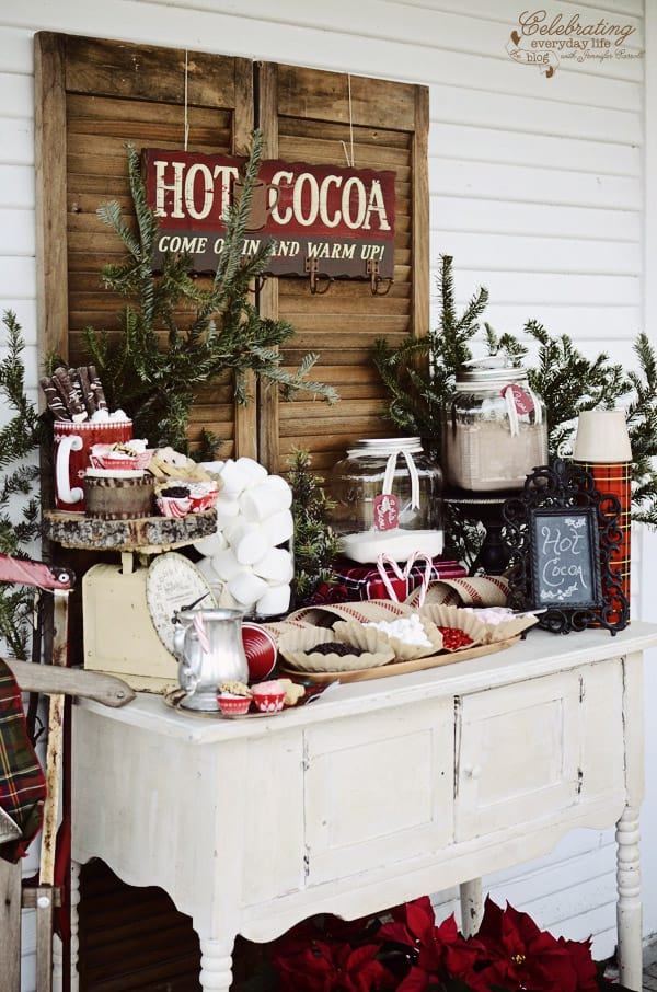 Front Porch Hot Cocoa Bar