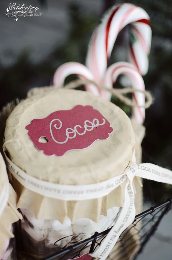 Cocoa Gift Tag