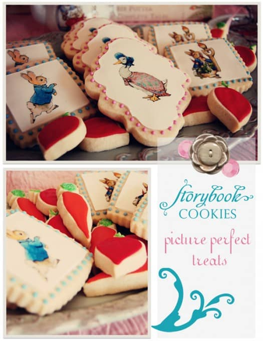First Birthday Cookies, Beatrix Potter Cookies, CookiesGroup1-525x679