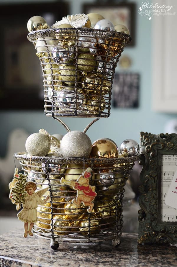 Tiered ornament display