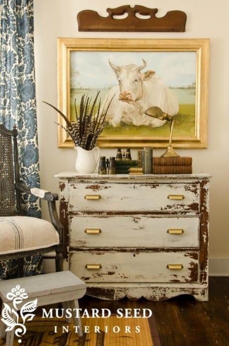 Linen Milk Paint chest