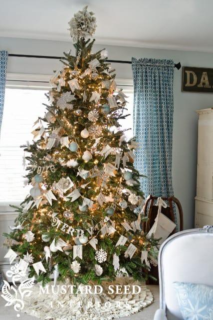 Miss Mustard Seed Christmas tree