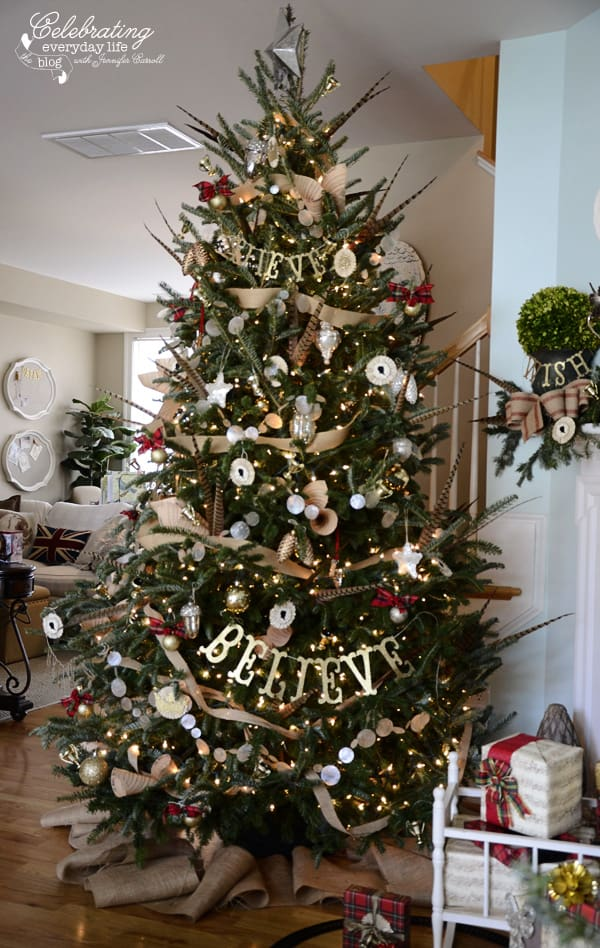 My hunt country aka inspired by ralph lauren christmas How do i decorate my christmas tree with ribbon