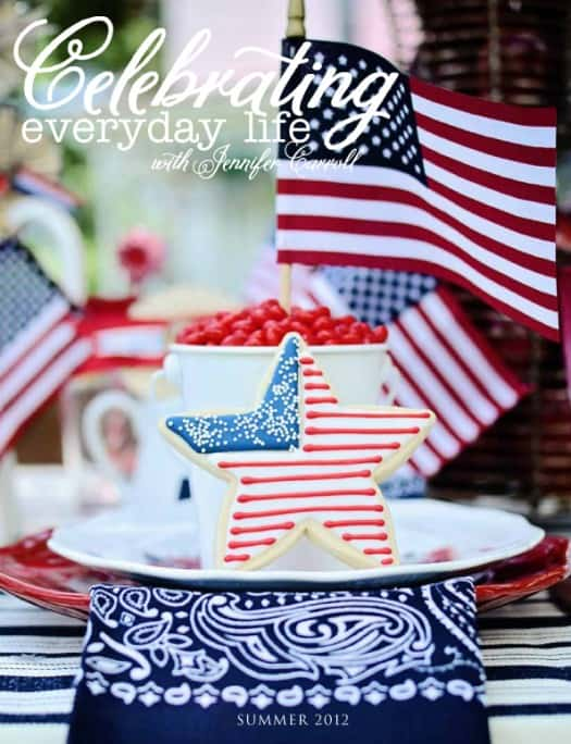 Celebrating Everyday Life with Jennifer Carroll, SummerCover-525x684