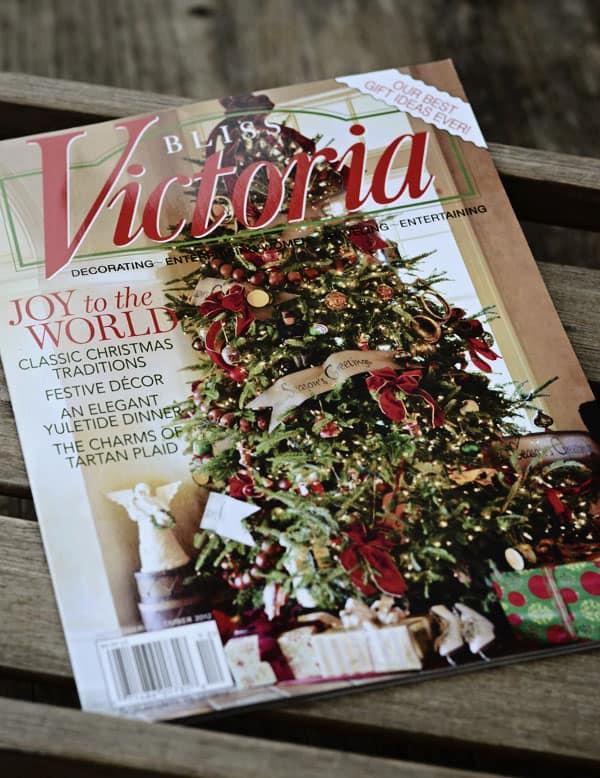 Victoria magazine November December 2012