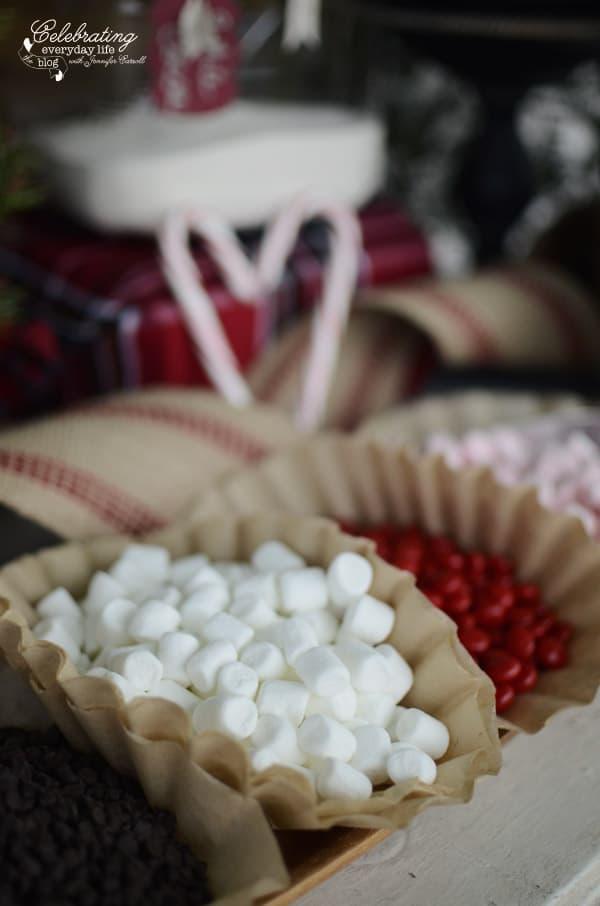 mini Marshmallows for hot cocoa bar