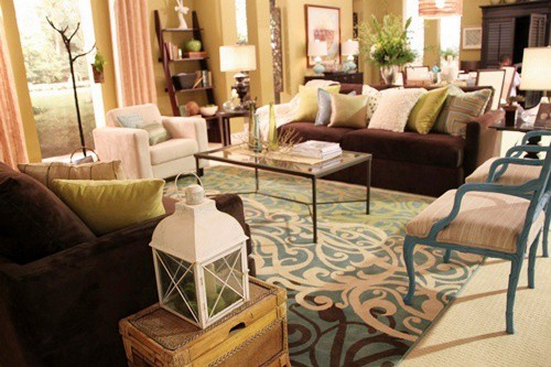 Biltmore Inspired Shaw Floors & HGTV.com Room on Southern Hospitality blog