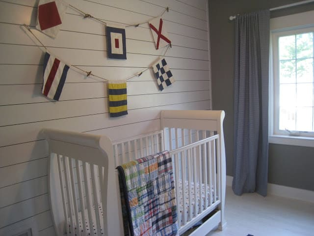 Boys Nautical Bedroom at The Lilypad Cottage