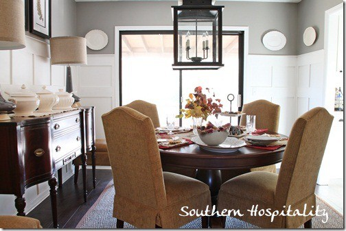 Dining room from Southern Hospitality blog