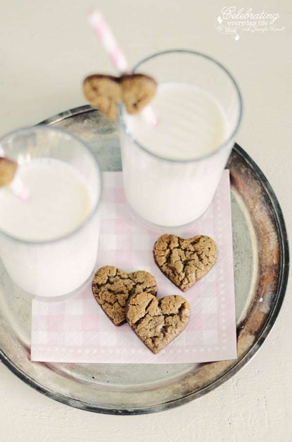 Gingerbread Hearts cookies
