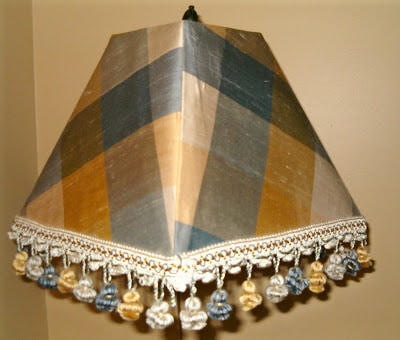 Fabric Lampshade project from Southern Hospitality blog